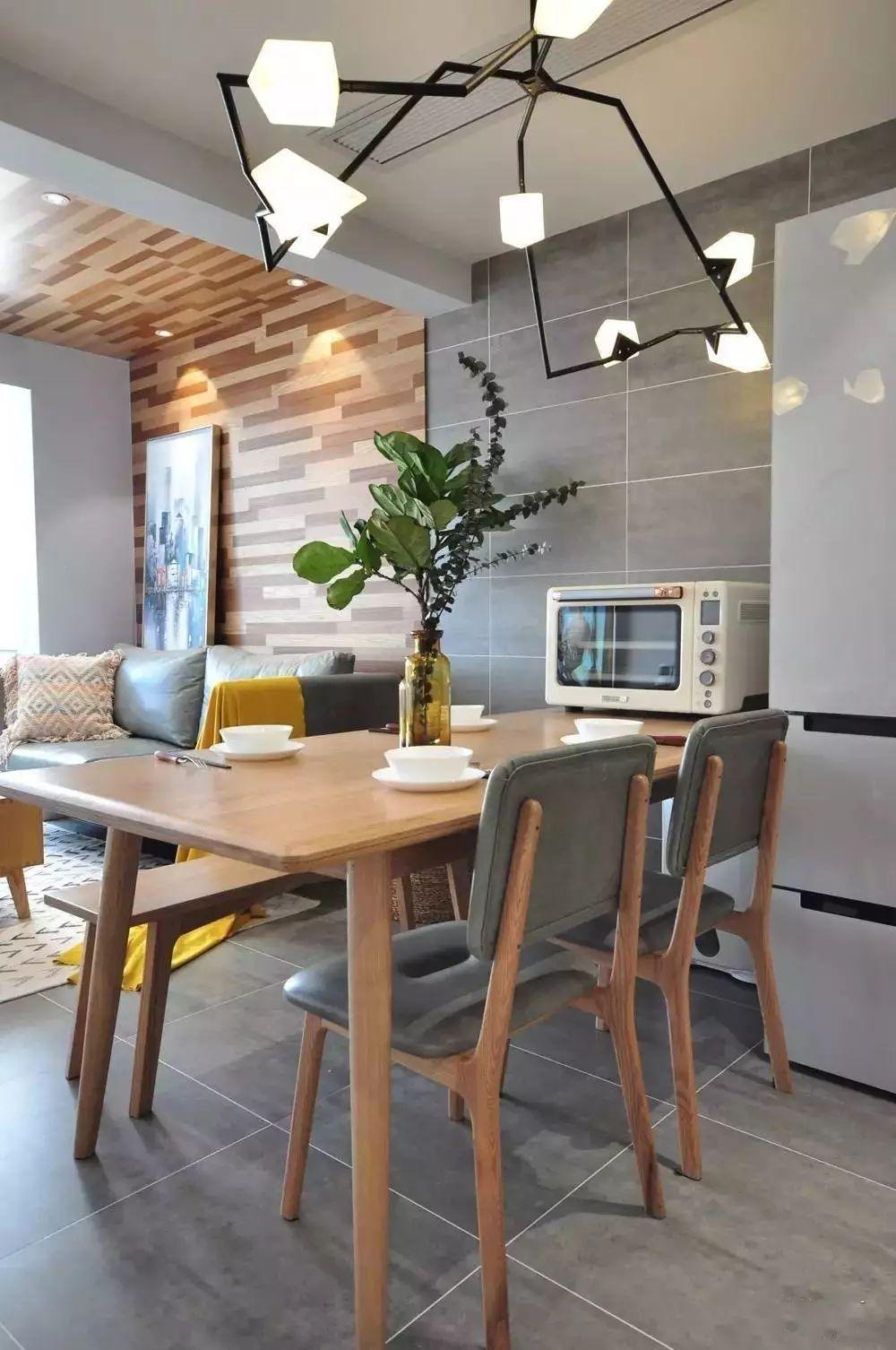 案例▶85㎡美酷小空间,地板上墙还上天,见过吗?