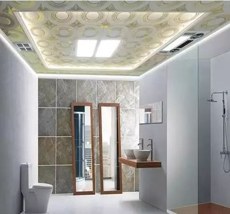 优点:使用耐水纸面石膏板 防水乳胶漆 水泥基耐水腻子,耐水,抗开裂.图片