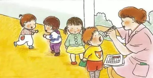 孩子搬椅子 卡通