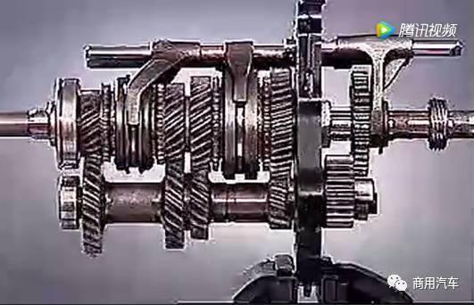 法士特三轴变速器各个档位之间的工作原理图片