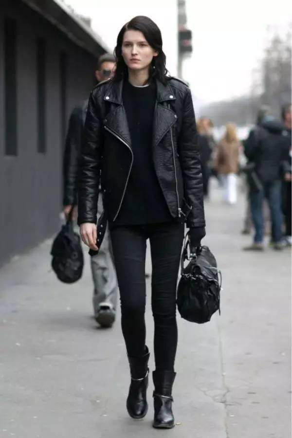 黑色千万不能乱穿, 巧妙搭配才会有气质!