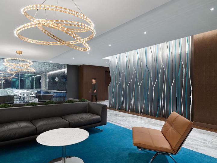 律师事务所办公室装修设计等候区设计