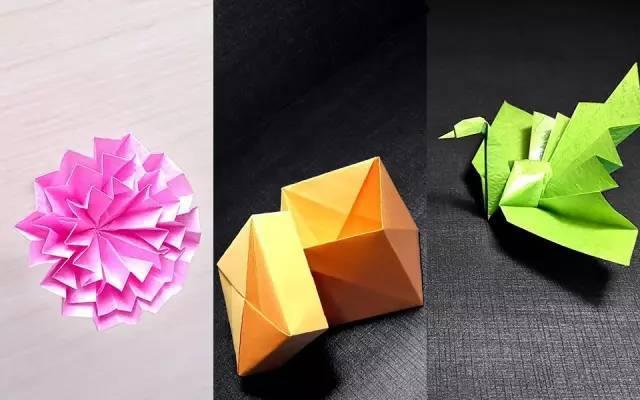 折纸盒子简单步骤图解