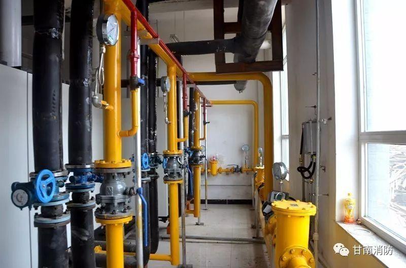 甘南支队新型天然气供暖锅炉房正式投入使用图片