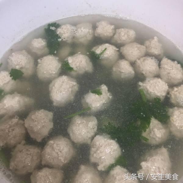 猪肉丸子汤的做法检测机构绿色食品图片