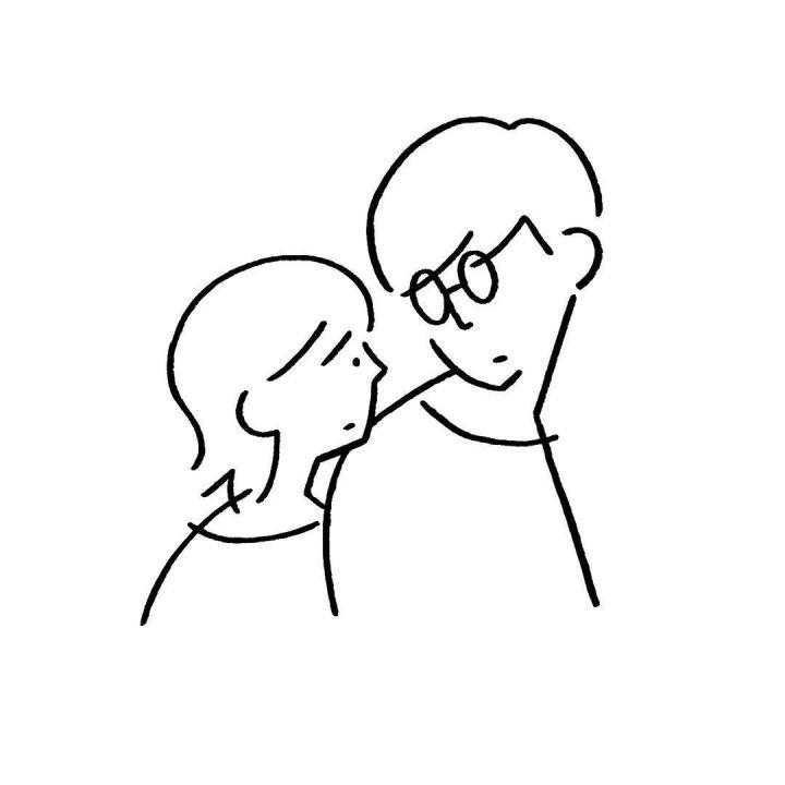 ins简笔画-没有色彩没有脑洞大开,日本这位大叔只用黑色线条就画出