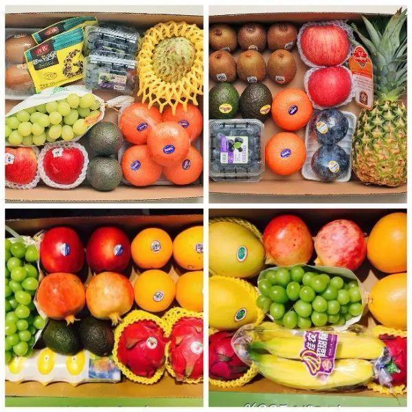 精品水果礼盒:128元--588元(水果可任意搭配)图片