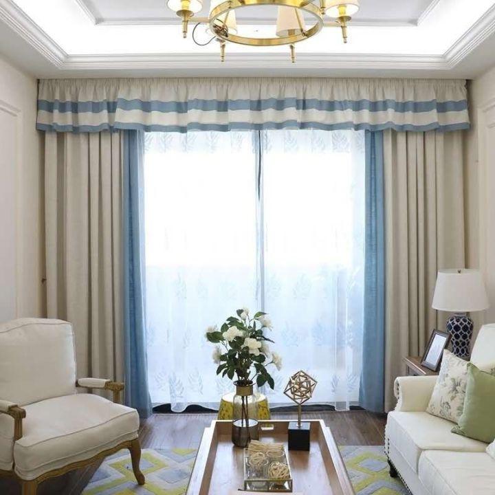 高檔客廳窗簾