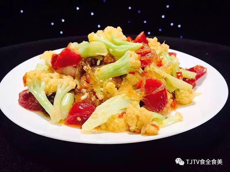 9月25日蘑菇:木耳千层肉饼&冰糖粉丝大枣煲的菜谱菜花腊味做法汤图片