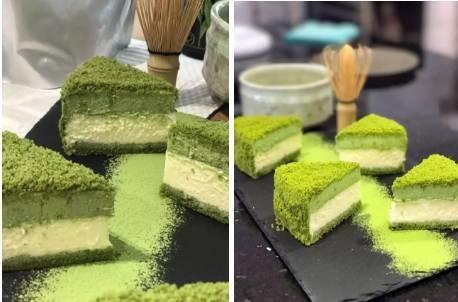 日式抹茶双重芝士~开启舌尖上的抹茶之旅