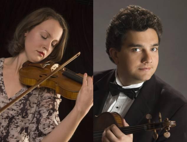 亨德尔(哈佛森改编) g大调小提琴二重奏,帕萨卡里亚舞曲 *演奏曲目以