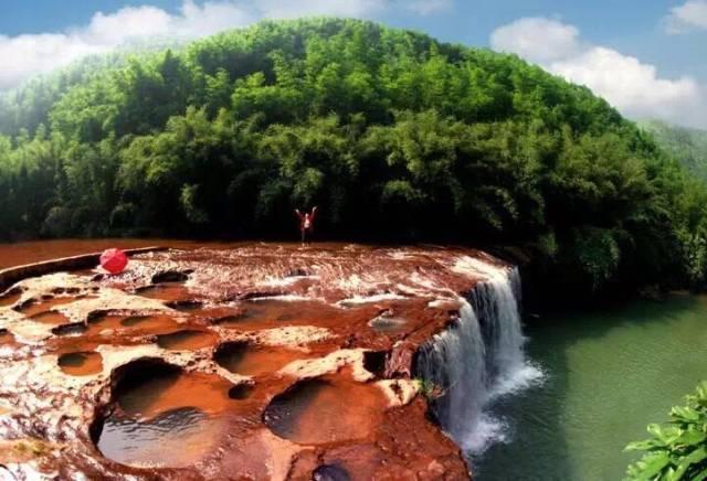 燕子岩国家森林公园,白马溪景区,转石奇观景区 四洞沟景区 四洞沟风景