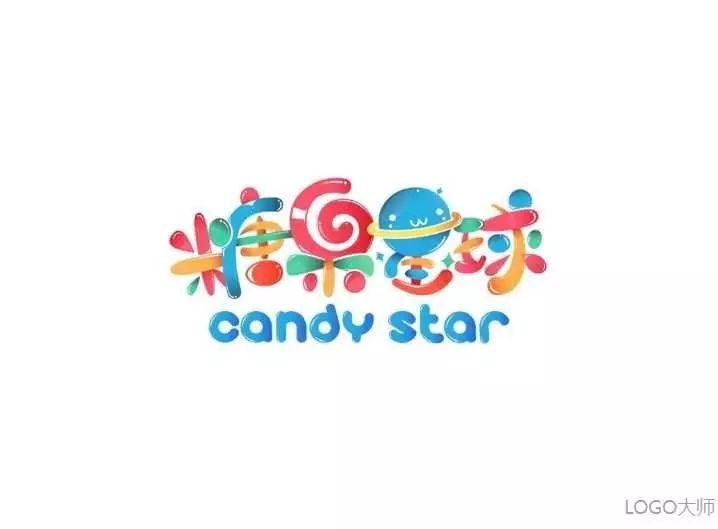 糖果品牌logo设计合集图片