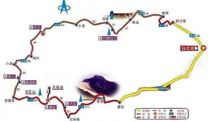 川西小环线自驾游|10月成都包车走川西要多少钱