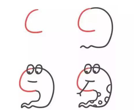 26字母变身简笔画,不怕孩子学不会画画和英语