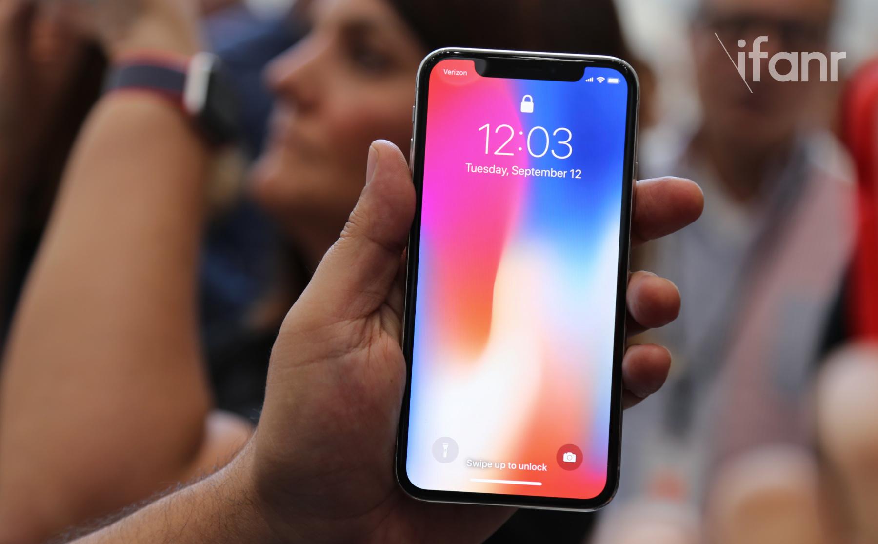 面部识别部件低产,iPhone X 供货紧张或将持续至明年