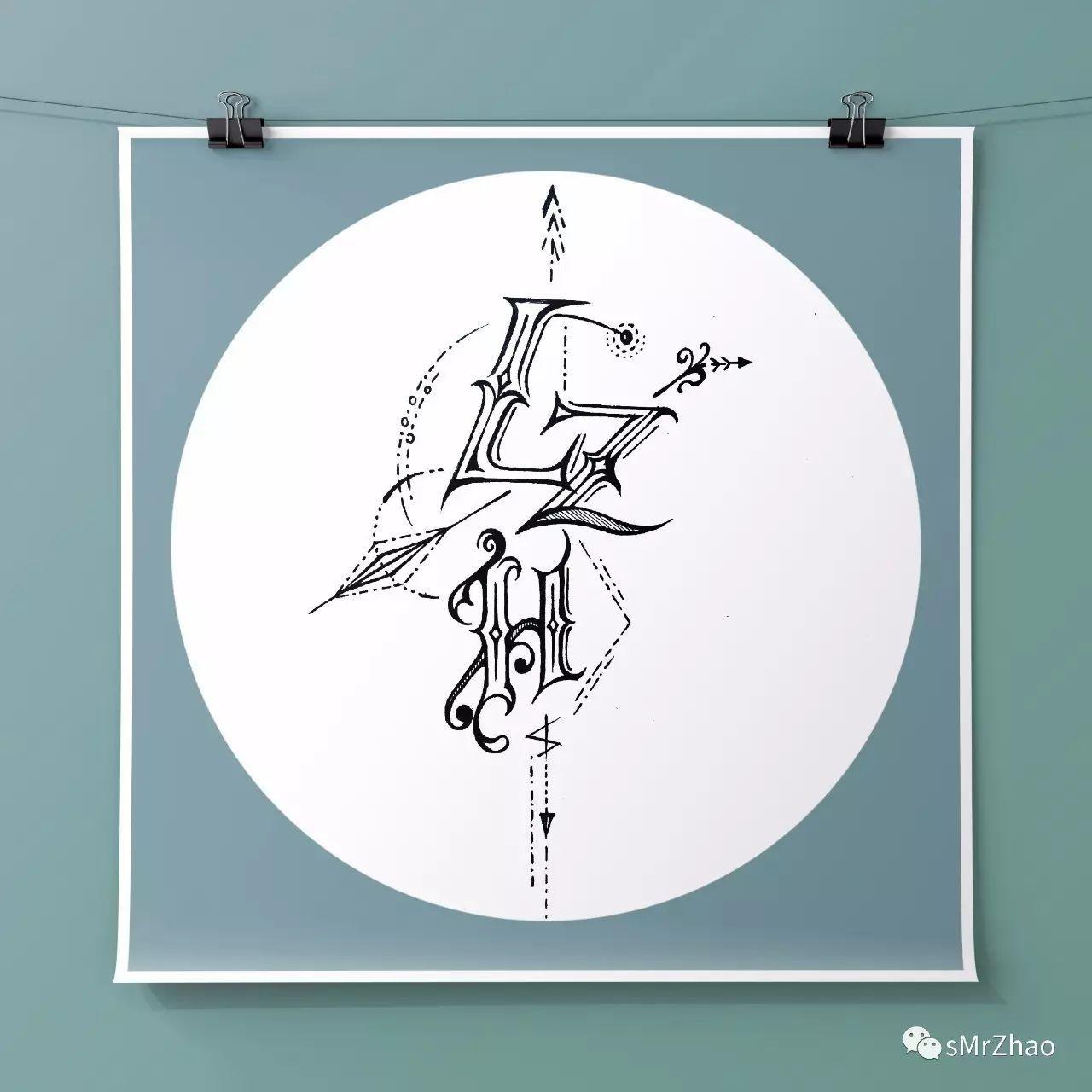sMrZhao纹身设计作品为主(2017.4-2017.9)校园整理题的海报设计图片