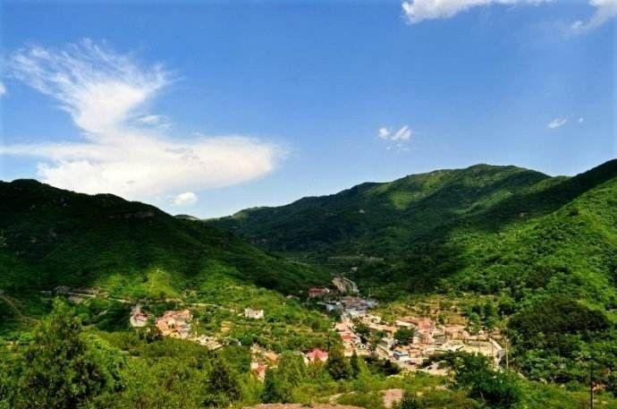 上苇甸村_北京最美的古镇,小长假游玩的好去处~