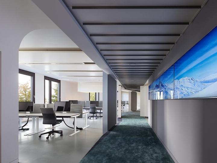 简洁型办公室风格装修效果图