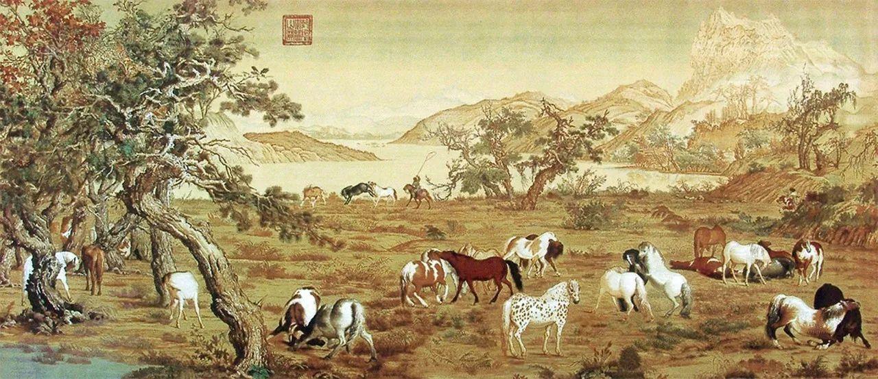 中国十大传世名画 中国十大名画家画集图片