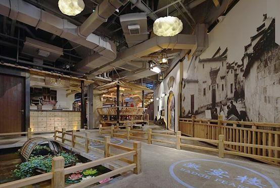 江南风格的饭店装修设计案例,美不胜收