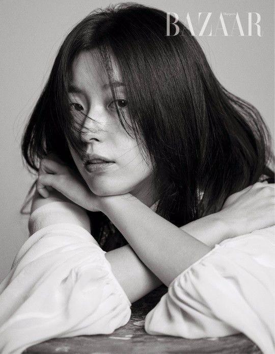 【组图】韩孝周登时尚杂志封面 突破尝试短发烟熏妆图片