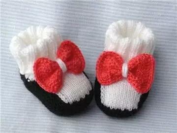 50款手工编织小毛鞋,给宝宝满满的爱(附教程)