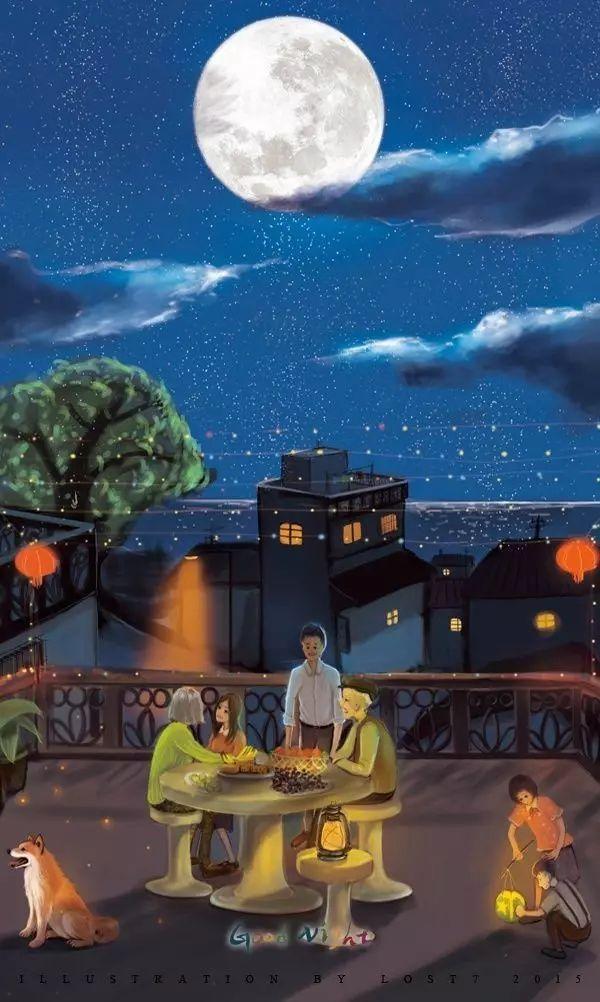 社会 正文  还有十几天就到中秋节了, 记得小时候过中秋, 都是一家人图片
