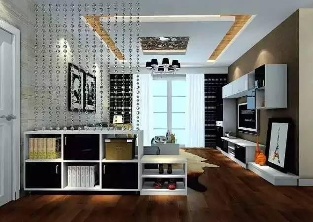 时尚 正文  原木酒柜隔断,采用原木作为材料,原木的质感让人有一种