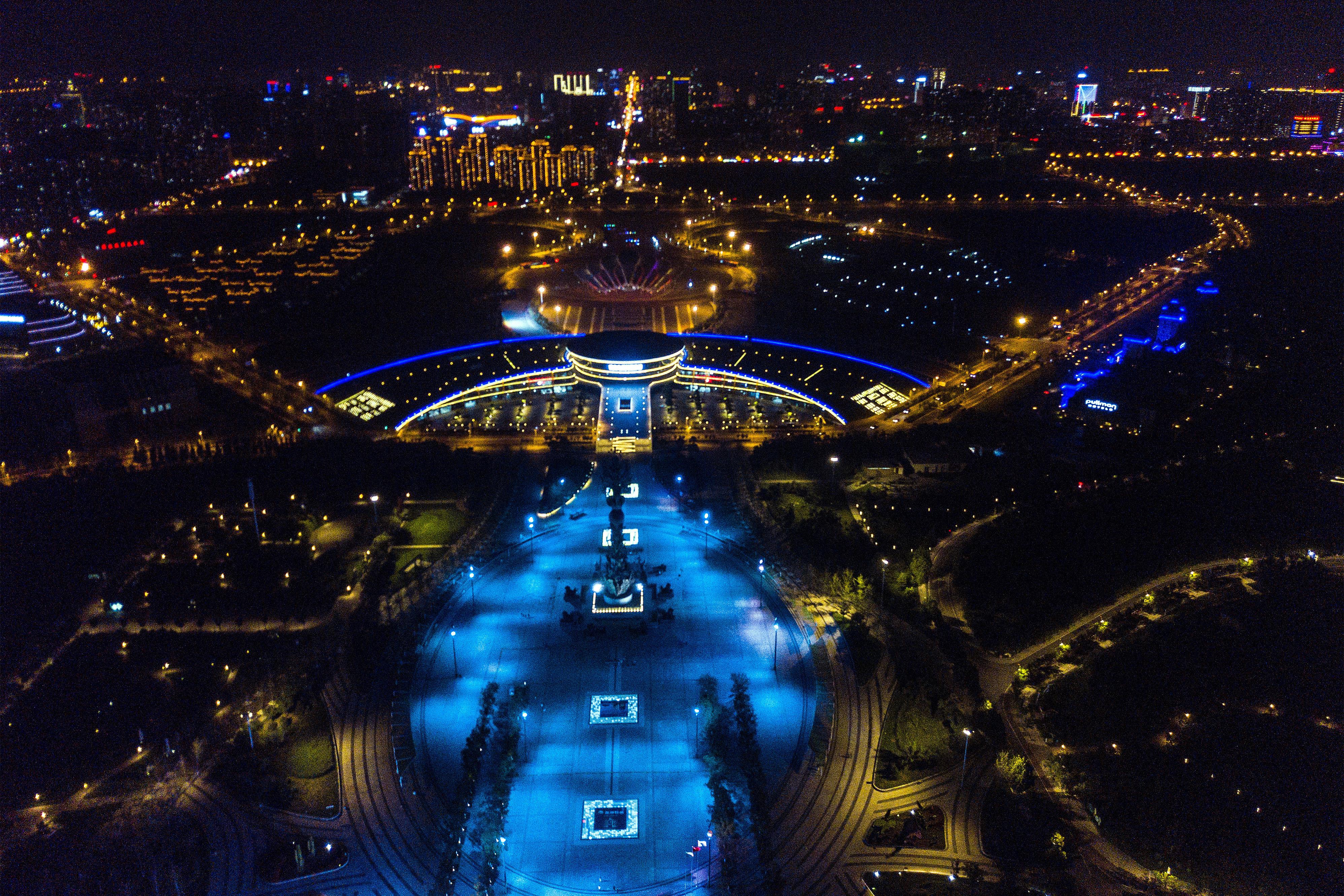 从高空俯瞰唐山,国庆八天长假你可以这么玩