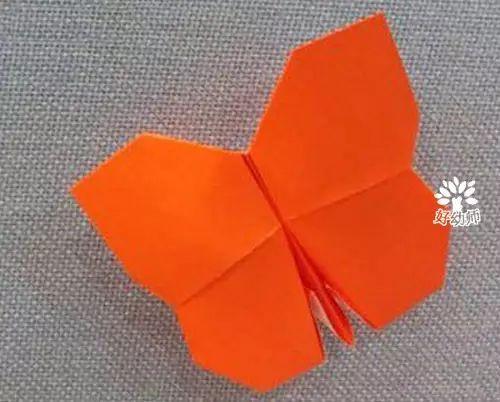 蝴蝶折纸步骤图解大全