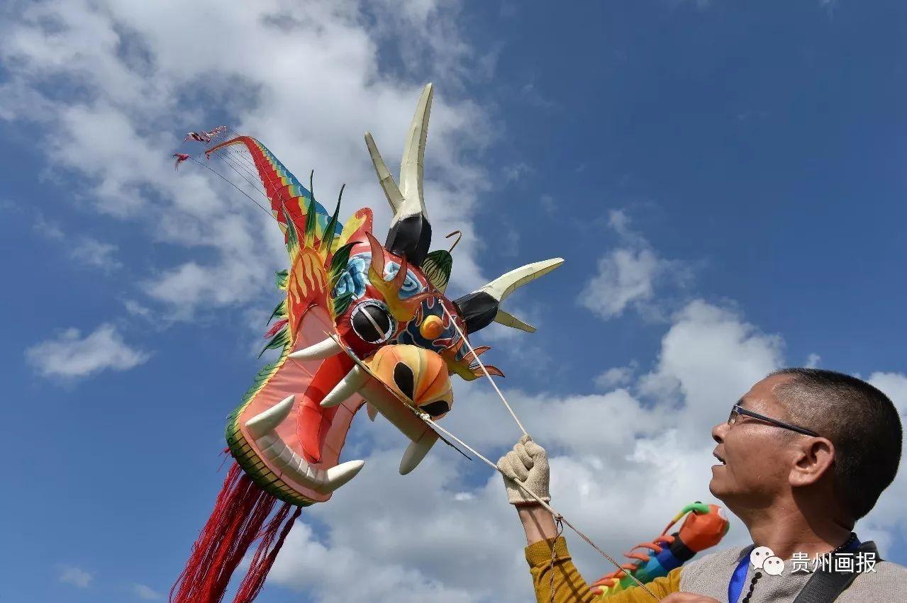 中国传统风筝—龙串.