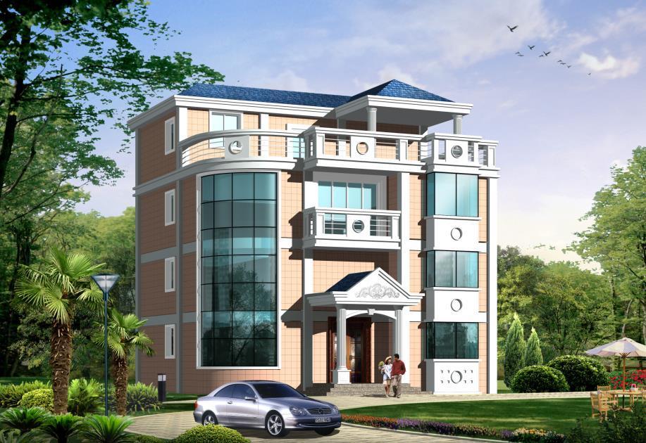 7款四层以上别墅设计图,可自住出租,农村房子也可以升值保值