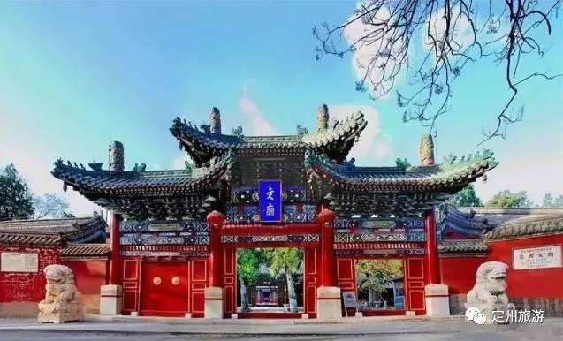 旅游 正文  定州塔位于河北省定州市城内,原名开元寺塔,是中国现存最