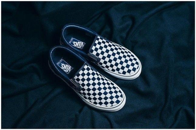 当Vans经典鞋款注入日本 蓝染 技术后