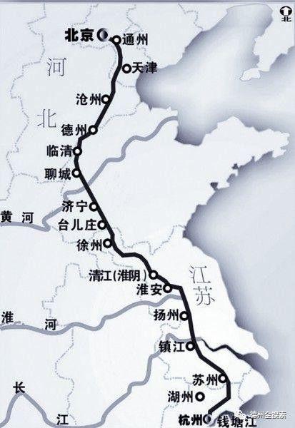 德州京杭大运河的水是从哪儿来的?