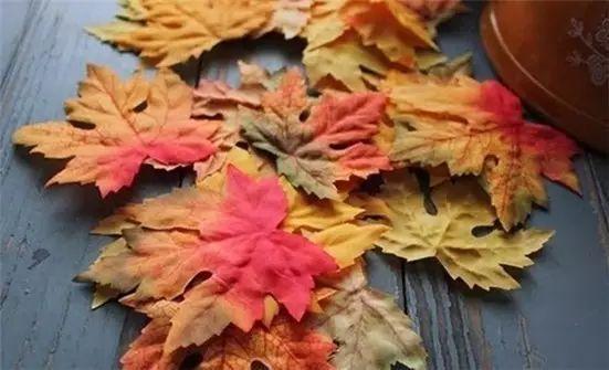 各种树叶剪纸步骤图解