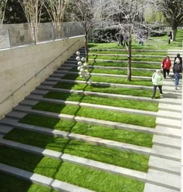 【园林景观】绿化微地形的方式处理高差重庆大墅建筑设计有限公司上海分公司图片