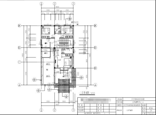 8x8米小楼房设计图