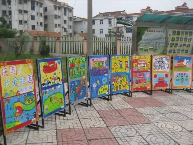 100款幼儿园国庆节手工环创(主题墙 吊饰 手工),不可错过!