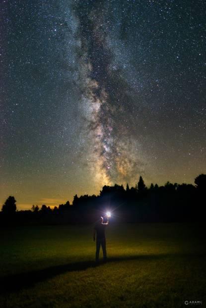 加拿大18岁少年打卡一年,近百张星空作品震惊摄影界!