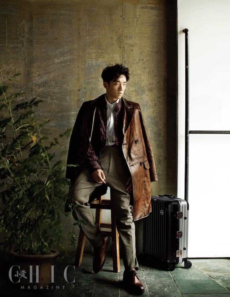 郑恺登杂志封面 黑白大片尽显质感男人魅力图片