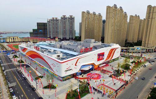 2017年9月29日,青岛西海岸经济新区开启万达时代——青岛港湾万达广场