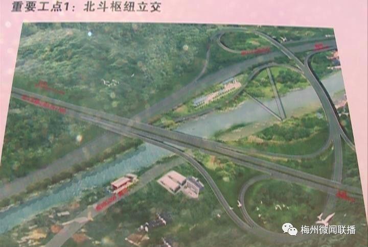 2020梅州市畲江规划图