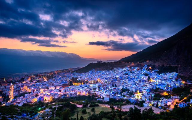 上帝为这个非洲小国用尽了所有色彩, 绝美浪漫, 仅一张照片就征服了三毛!
