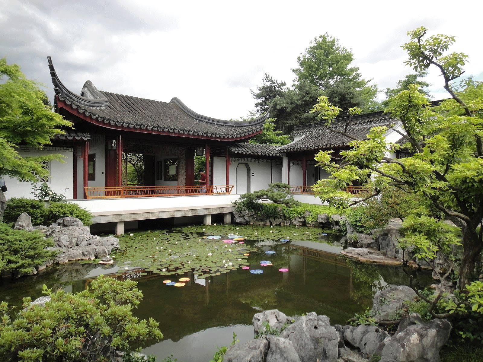 中式庭院pk西式庭院,你更喜欢哪个?图片