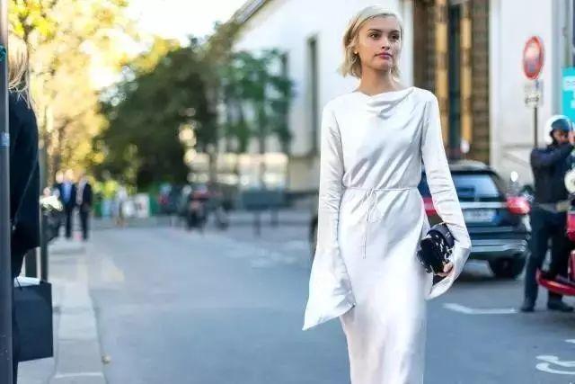 【搭配】秋天穿这样穿连衣裙,不要太美了! 5