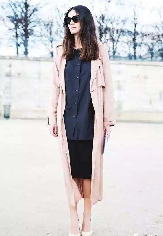 【搭配】秋天穿这样穿连衣裙,不要太美了! 18