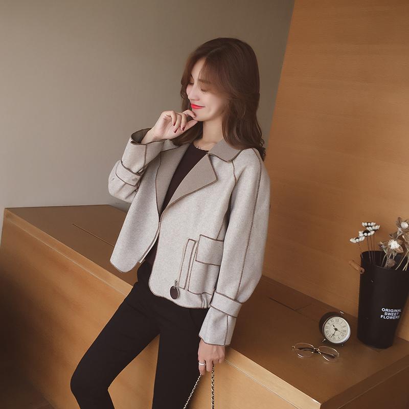 经典时尚又百搭的短款外套,轻松穿出高挑身材! 3