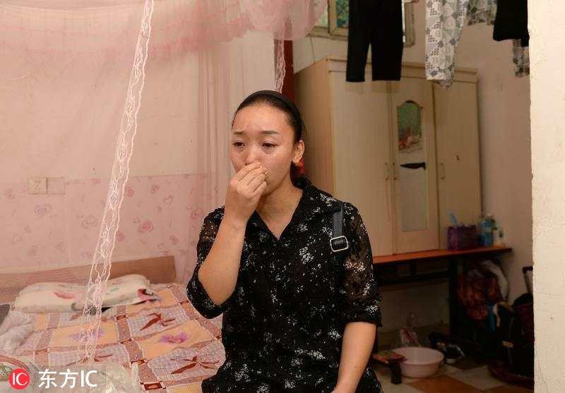 2017年9月26日,四川成都,年初,刚刚18岁的孙子王胡林患上急性白血病图片